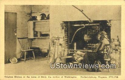 Home of Mother of Washigton  - Fredericksburg, Virginia VA Postcard