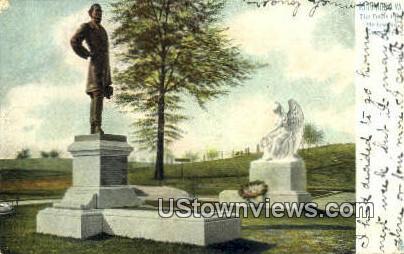 Davis Pier  - Richmond, Virginia VA Postcard