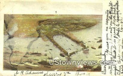 Jamestown Emporium  - Norfolk, Virginia VA Postcard