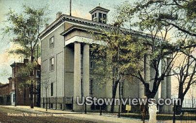 Old Confederate Museum  - Richmond, Virginia VA Postcard