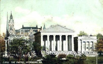 The Capitol  - Richmond, Virginia VA Postcard