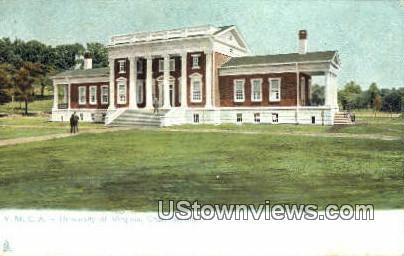 Ymca  - Charlottesville, Virginia VA Postcard
