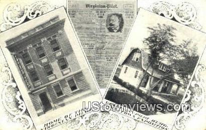 Virginia Pilot - Jamestown Postcard