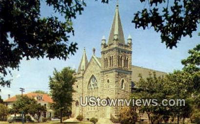 St Mary Star,  Sea Catholic Church - Fort Monroe, Virginia VA Postcard