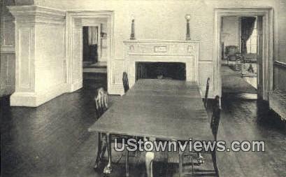 Monticello Dining Room  - Charlottesville, Virginia VA Postcard