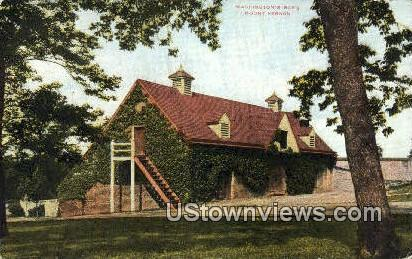 Washingtons Barn  - Mount Vernon, Virginia VA Postcard