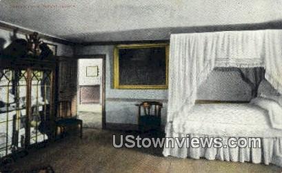 The Green Room  - Mount Vernon, Virginia VA Postcard