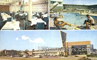Arava Motor Hotel  - Arlington, Virginia VA Postcard