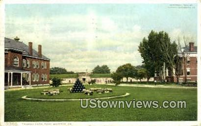 Trophy Park  - Fort Monroe, Virginia VA Postcard