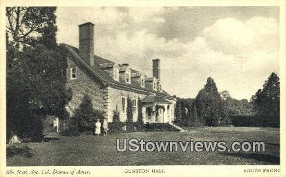 Gunston Hall , Virginia, VA, Postcard