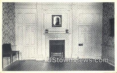 Home Chief Justice John Marshall  - Richmond, Virginia VA Postcard