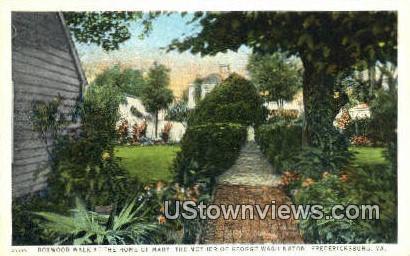 Home of George Washingtons Mother - Fredericksburg, Virginia VA Postcard