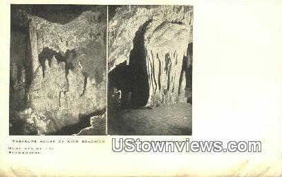 Treasure House Of King Solomon  - Luray Caverns, Virginia VA Postcard