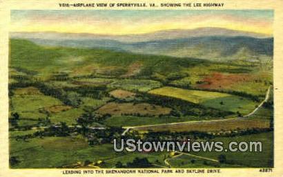 Sperryville, Virginia, VA, Postcard