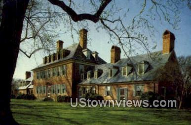 Carters Grove Plantation - Williamsburg, Virginia VA Postcard