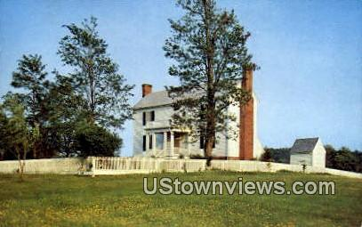 The Bocock Isbell House  - Appomattox Court House, Virginia VA Postcard