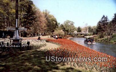 The Botanical Gardens  - Norfolk, Virginia VA Postcard