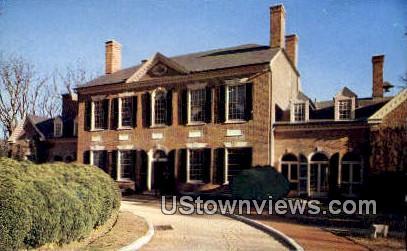 Carriage Ent. Woodlawn Plantation - Mount Vernon, Virginia VA Postcard