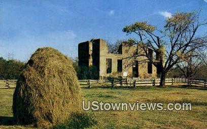 Ambler House - Jamestown, Virginia VA Postcard