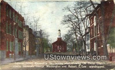 Cameron Street  - Alexandria, Virginia VA Postcard