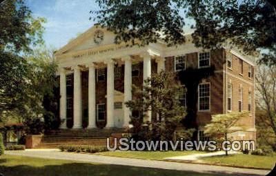 Charles L Cocke Memorial Library  - Hollins College, Virginia VA Postcard