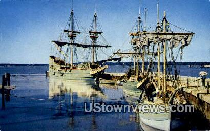 Jamestown, Virginia, VA, Postcard
