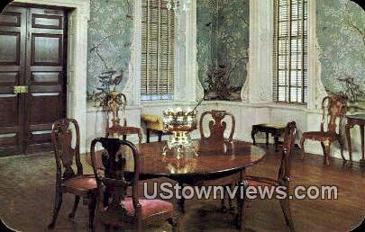 Supper Room Of Governors Palace  - Williamsburg, Virginia VA Postcard