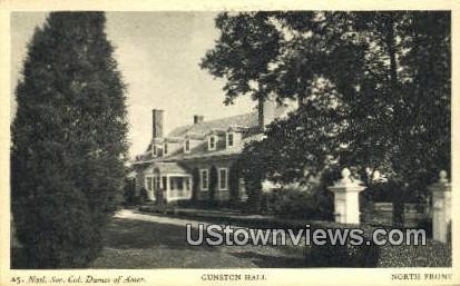 North Front  - Gunston Hall, Virginia VA Postcard