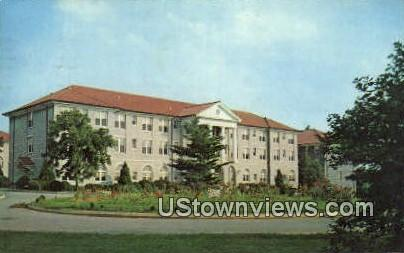 Converse Hall  - Harrisonburg, Virginia VA Postcard