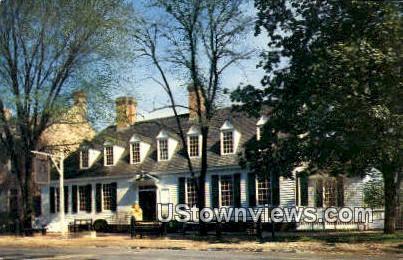 The Raliegh Tavern  - Williamsburg, Virginia VA Postcard