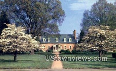 Dogwood In Bloom - Gunston Hall, Virginia VA Postcard