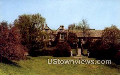 Gardens Of Virginia House  - Richmond Postcard