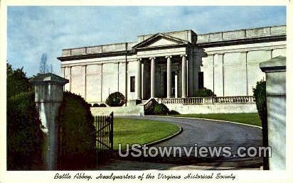 Battle Abbey  - Richmond, Virginia VA Postcard