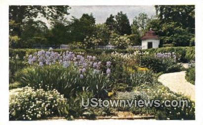 Mount Vernon Flower Garden  - Virginia VA Postcard