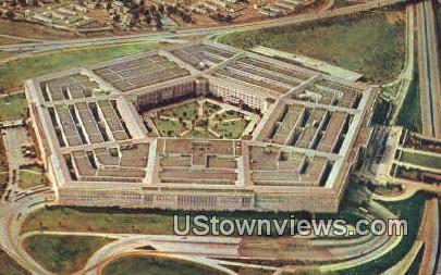 The Pentagon Building  - Arlington, Virginia VA Postcard