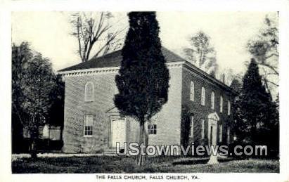 The Falls Church  - Virginia VA Postcard