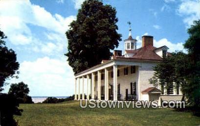 East Front  - Mount Vernon, Virginia VA Postcard