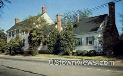 Seymour House  - Accomac, Virginia VA Postcard