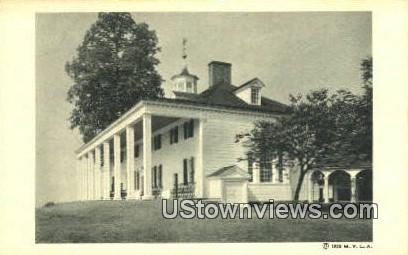 Mansion, East Front  - Mount Vernon, Virginia VA Postcard