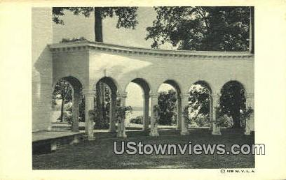 Colonnade  - Mount Vernon, Virginia VA Postcard
