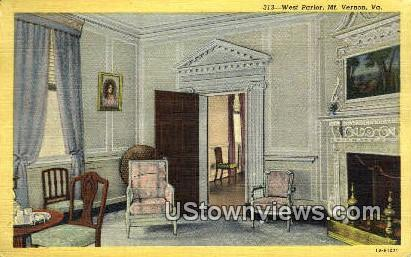 West Palour  - Mount Vernon, Virginia VA Postcard