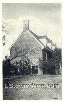 Warren House  - Surry, Virginia VA Postcard
