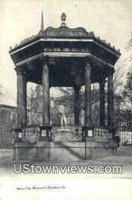 Henry Clay Monument  - Richmond, Virginia VA Postcard