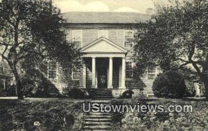 Rear Entrance To Kenmore  - Fredericksburg, Virginia VA Postcard