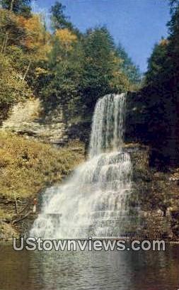 Cascade Falls  - Mountain Lake, Virginia VA Postcard
