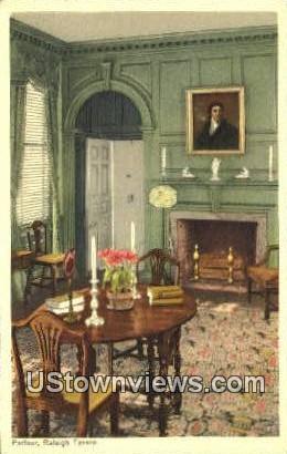 Palour Raleigh Tavern  - Williamsburg, Virginia VA Postcard