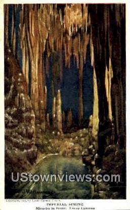 Imperial Spring  - Luray Caverns, Virginia VA Postcard
