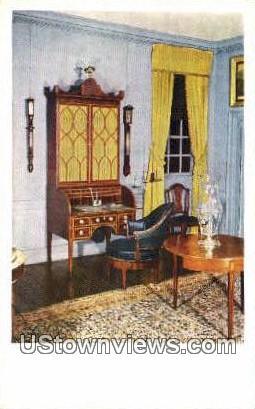 General Washingtons Desk  - Mount Vernon, Virginia VA Postcard