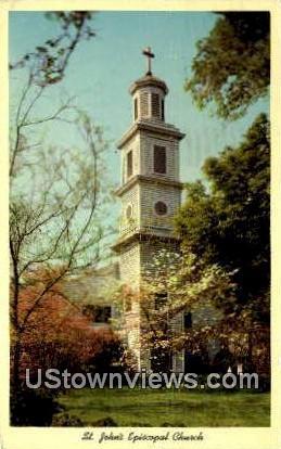 St Jonhs Episcopal Church  - Richmond, Virginia VA Postcard