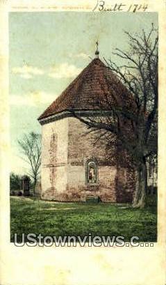 Old Powder Horn  - Williamsburg, Virginia VA Postcard